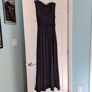 Max Studio black maxi dress M
